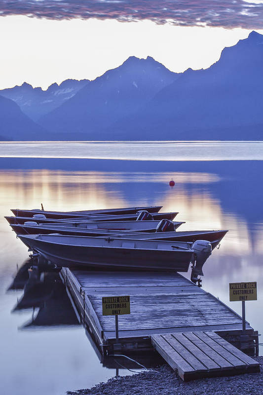 Art Poster featuring the photograph Mood Indigo by Jon Glaser