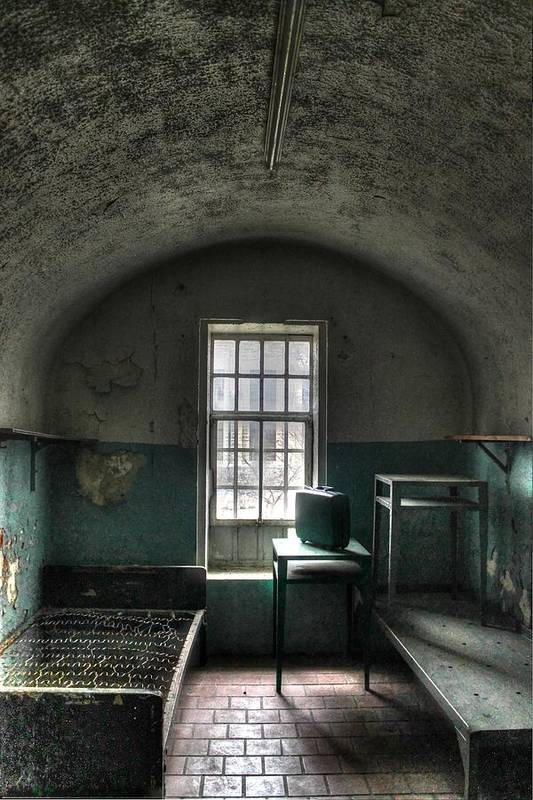 Prison Poster featuring the photograph Prison Cell by Jane Linders