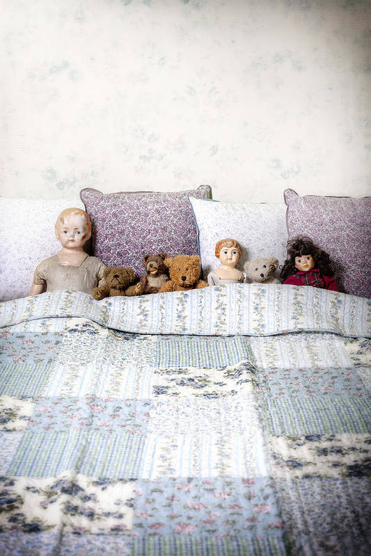 Doll Poster featuring the photograph Vintage Toys by Joana Kruse