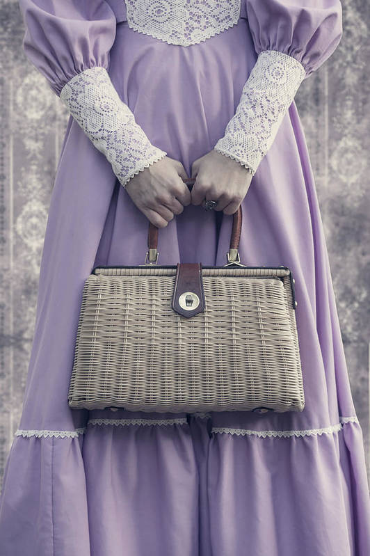 Woman Poster featuring the photograph Handbag by Joana Kruse