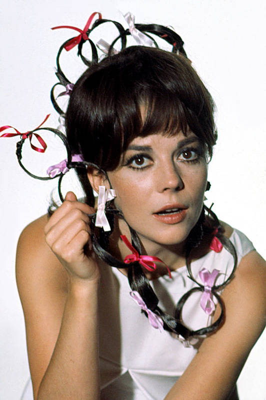 Bows Poster featuring the photograph Natalie Wood by Everett