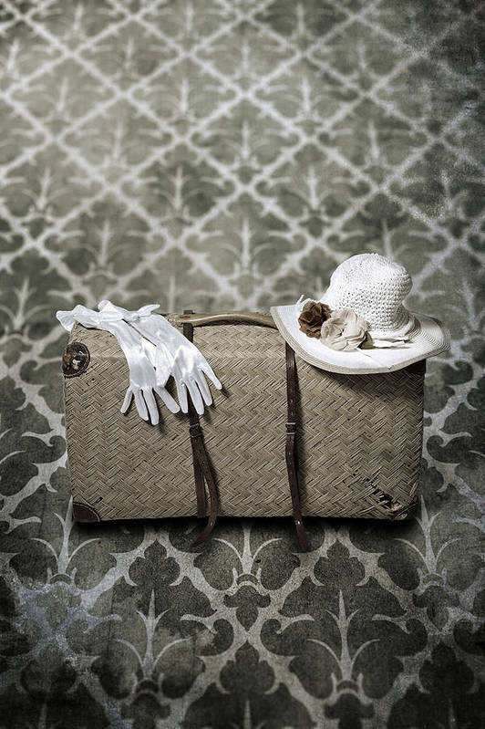Case Poster featuring the photograph Suitcase by Joana Kruse