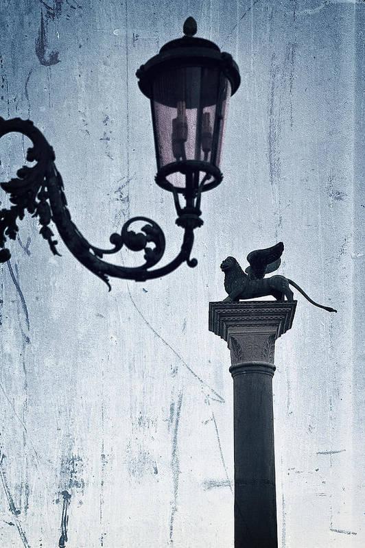 Lantern Poster featuring the photograph Venezia by Joana Kruse