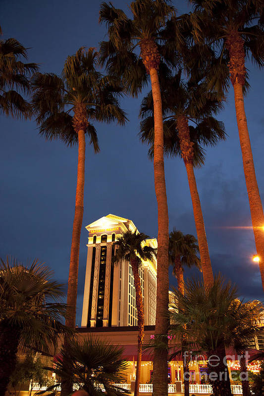 America Poster featuring the photograph Caesars Palace 6 by Jane Rix
