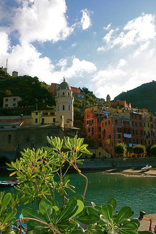 Vernazza Poster featuring the photograph Dream Of Vernazza by K Scott Williamson