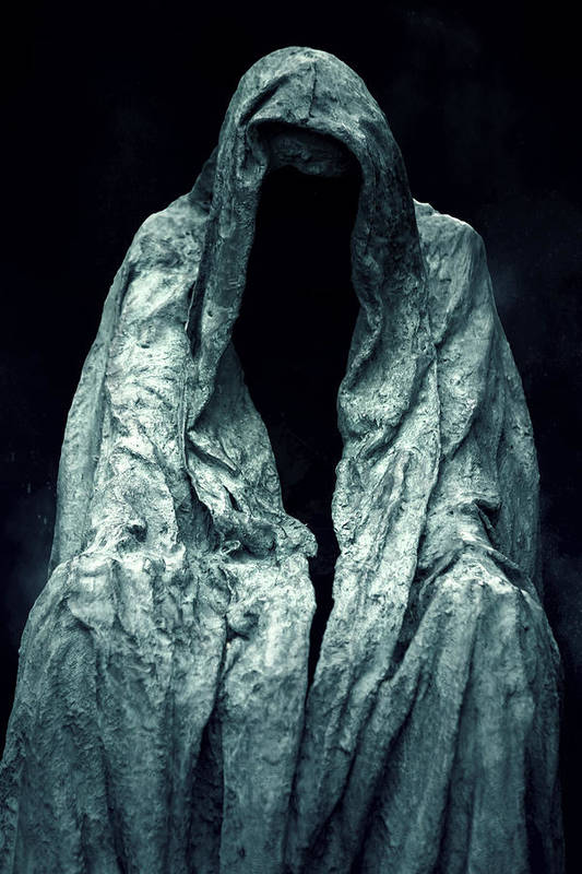 Sculpture Poster featuring the photograph Ghost by Joana Kruse
