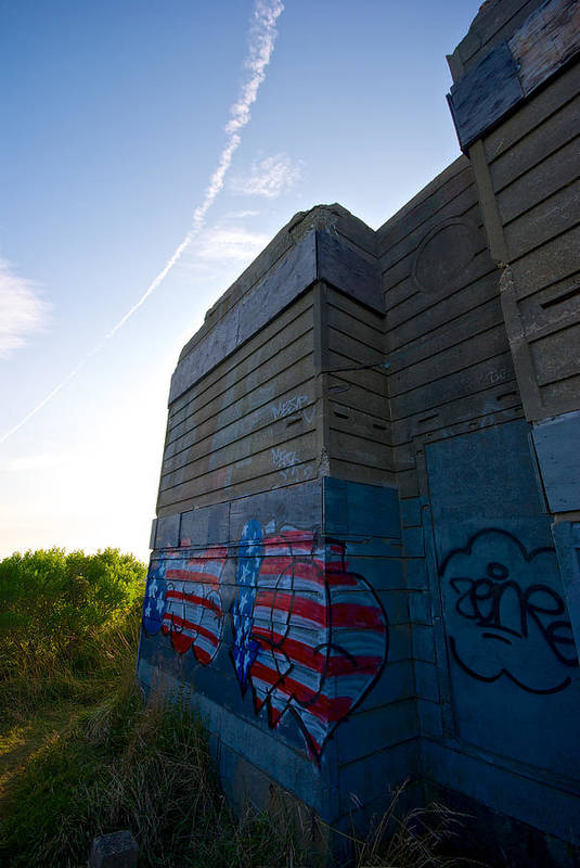 Montauk Poster featuring the photograph Graffiti by Mike Horvath