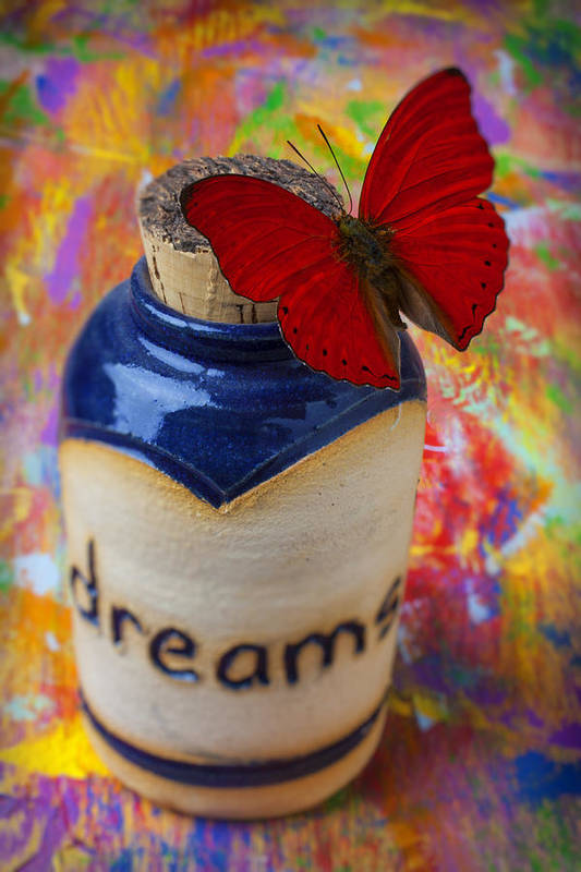 Jar Poster featuring the photograph Jar Of Dreams by Garry Gay