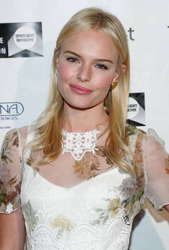 Kate Bosworth Poster featuring the photograph Kate Bosworth Wearing A Dolce & Gabbana by Everett