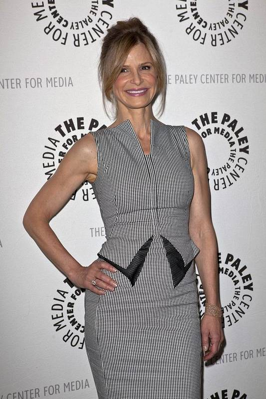 Kyra Sedgwick Poster featuring the photograph Kyra Sedgwick Wearing An Antonio by Everett