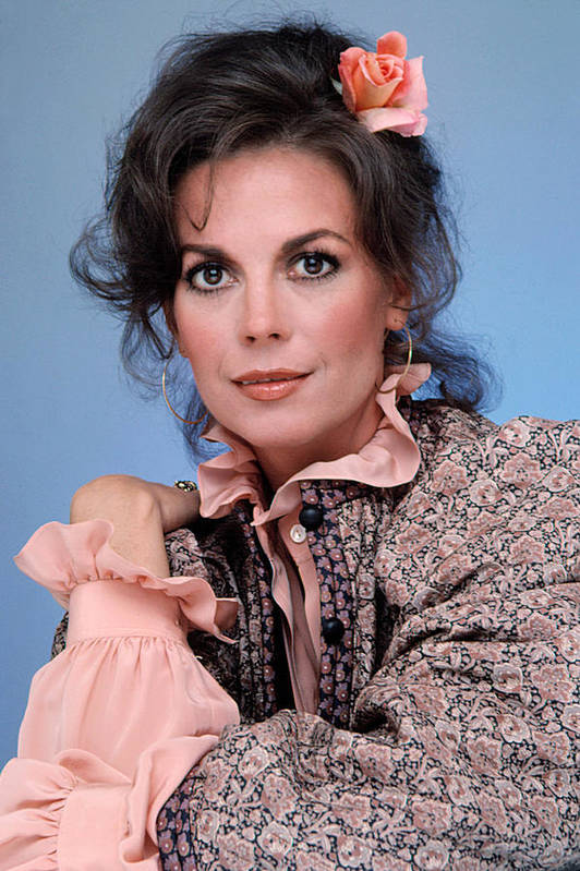 1980s Fashion Poster featuring the photograph Natalie Wood In The 1970s by Everett