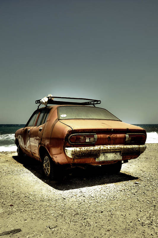 Car Poster featuring the photograph Old Car by Joana Kruse