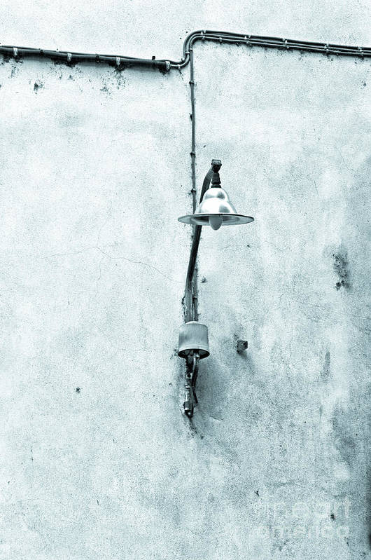 Street Lamp Poster featuring the photograph Old Street Lamp by Silvia Ganora
