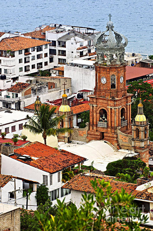 Puerto Vallarta Poster featuring the photograph Puerto Vallarta by Elena Elisseeva