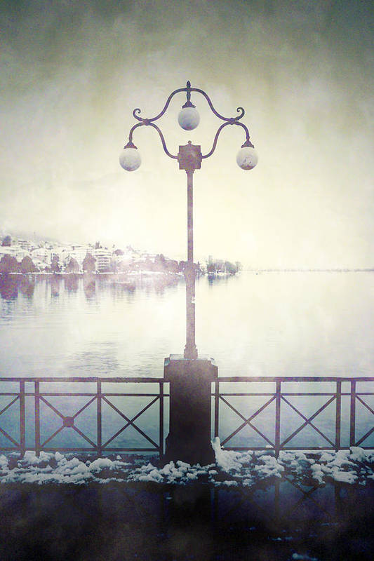 Lantern Poster featuring the photograph Street Lamp by Joana Kruse