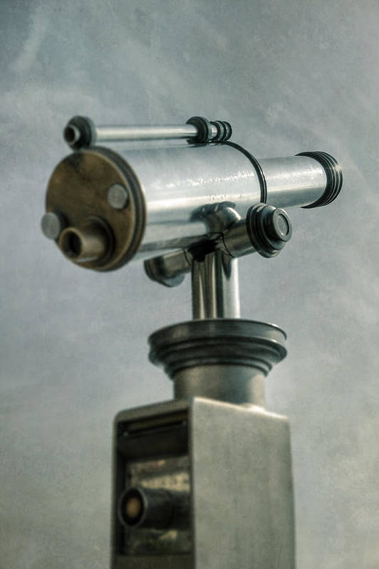 Telescope Poster featuring the photograph Telescope by Joana Kruse