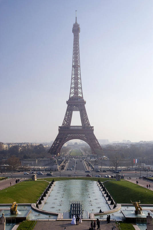 French Poster featuring the photograph Tour Eiffel by Rod Jones