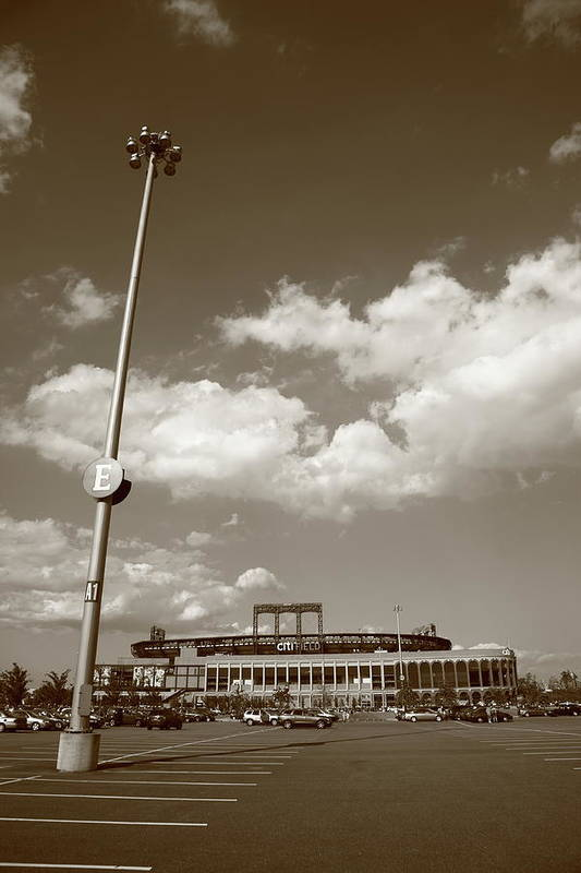 America Poster featuring the photograph Citi Field - New York Mets by Frank Romeo