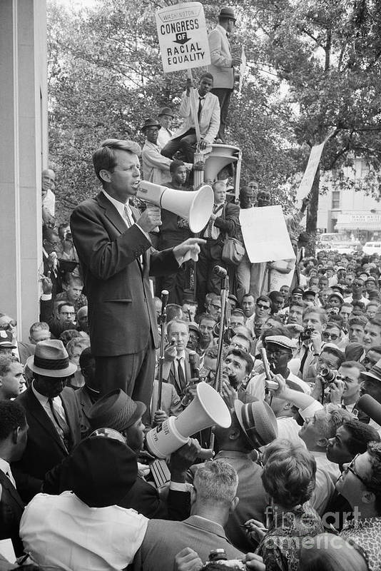 1963 Poster featuring the photograph Robert F. Kennedy by Granger