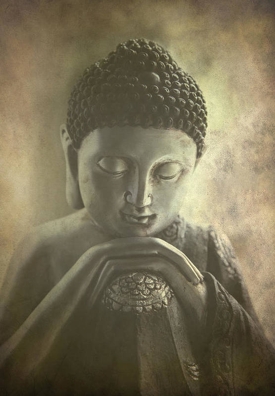 Ancient Poster featuring the photograph Buddha by Madeleine Forsberg