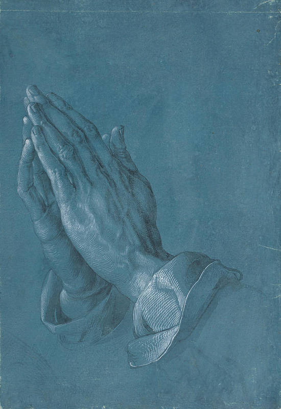Albrecht Dürer Poster featuring the painting Praying Hands by Albrecht Durer