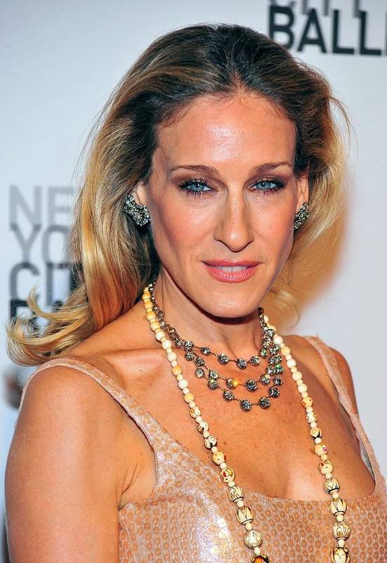 Sarah Jessica Parker Poster featuring the photograph Sarah Jessica Parker At Arrivals by Everett