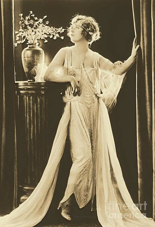 Marion Davies Poster featuring the photograph Marion Davies by Padre Art