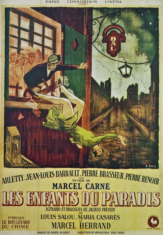Les Enfants Du Paradis Poster featuring the photograph Les Enfants Du Paradis by Georgia Fowler