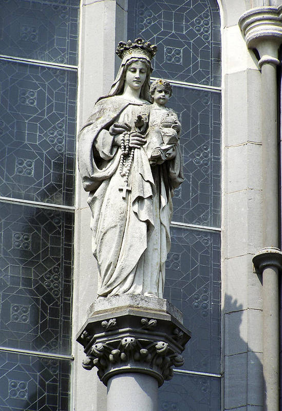 Ireland Poster featuring the photograph Madonna And Child by Teresa Mucha