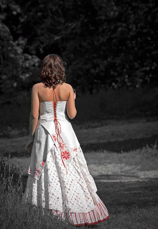 Ukraine Poster featuring the photograph Ukrainian Bride by Evelina Kremsdorf