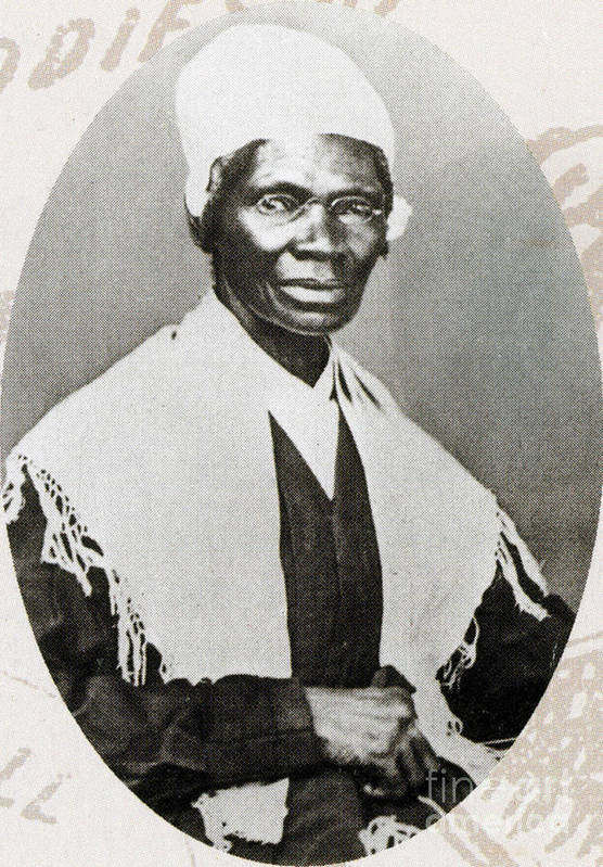 History Poster featuring the photograph Sojourner Truth, African-american by Photo Researchers