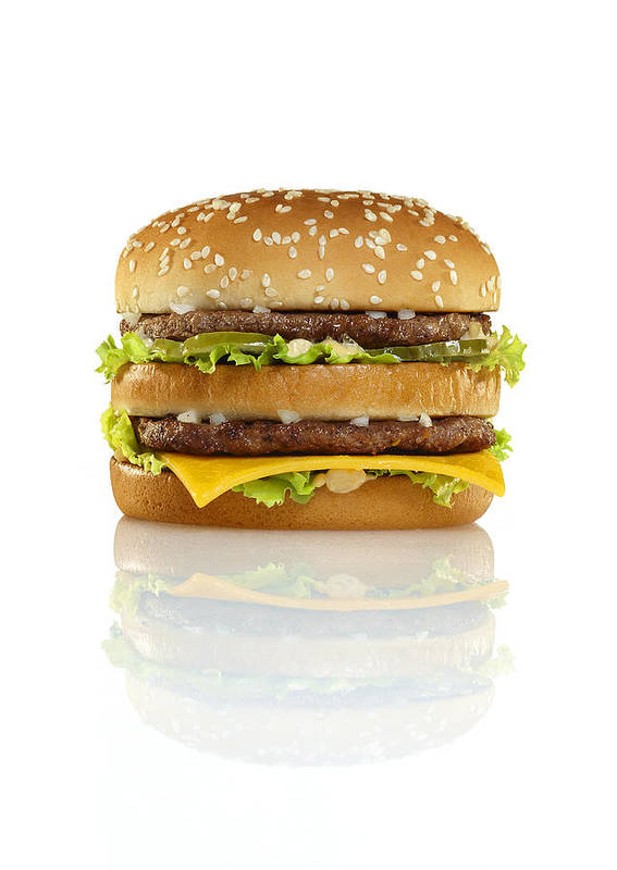 Burger Poster featuring the photograph Big Mac by Geoff George