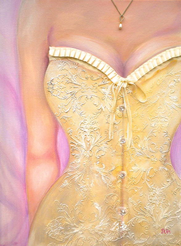Champagne Dreams Poster featuring the painting Champagne Dreams by Debi Starr