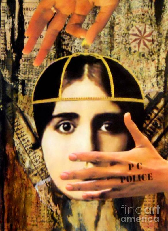 Control Poster featuring the painting Control by Desiree Paquette