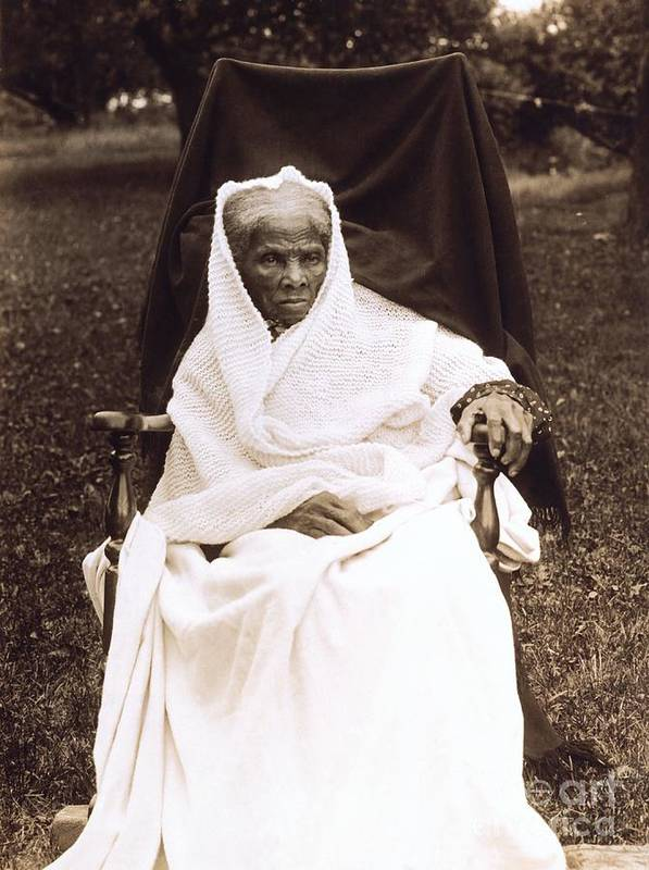 Douglass Poster featuring the photograph Harriet Tubman Portrait 1911 by Unknown