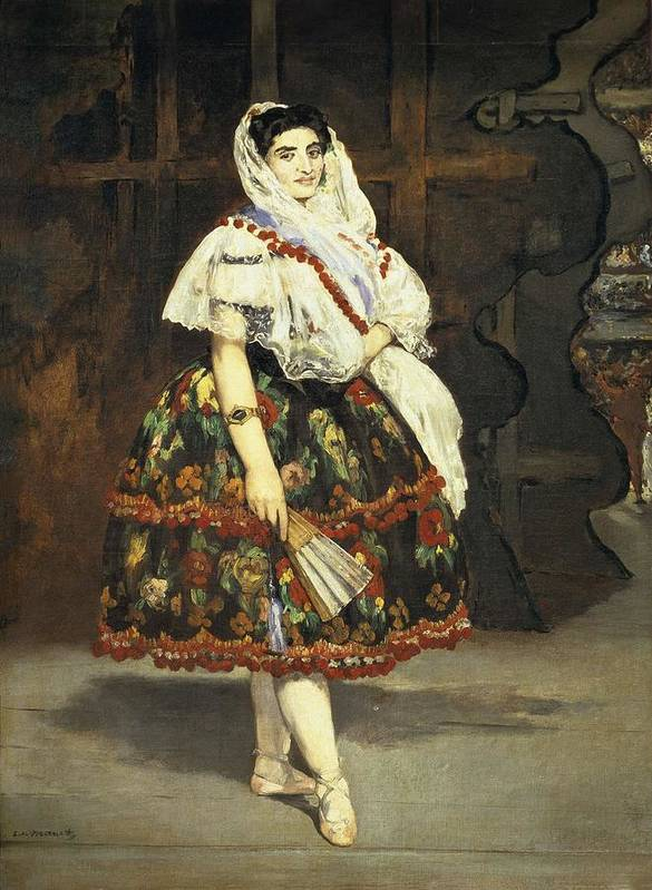Vertical Poster featuring the photograph Manet, �douard 1832-1883. Lola De by Everett