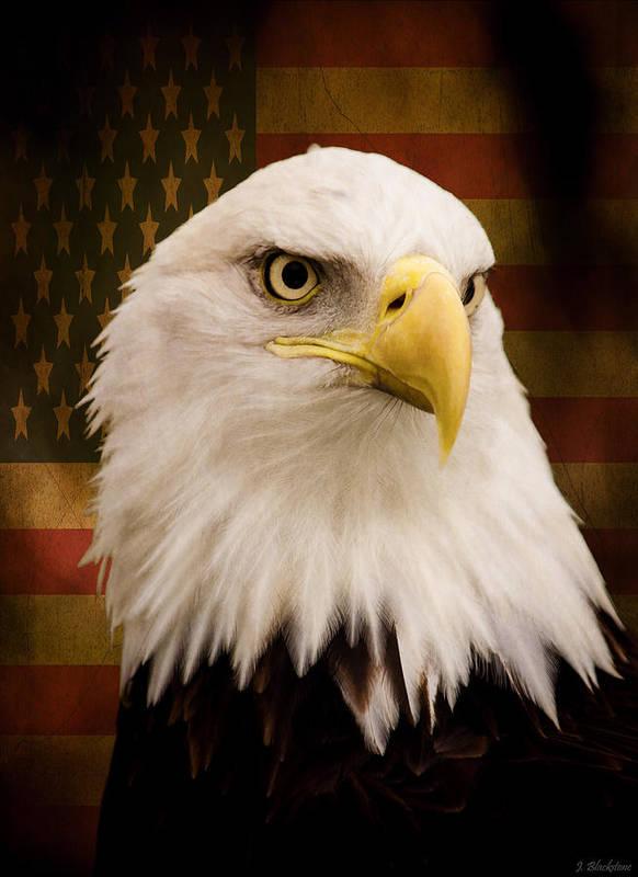May Your Heart Soar Like An Eagle Poster featuring the photograph May Your Heart Soar Like An Eagle by Jordan Blackstone