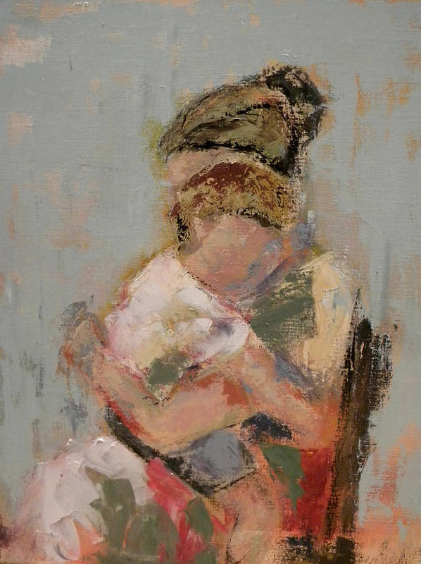 Mother Poster featuring the painting My Nana by Lisa Moore