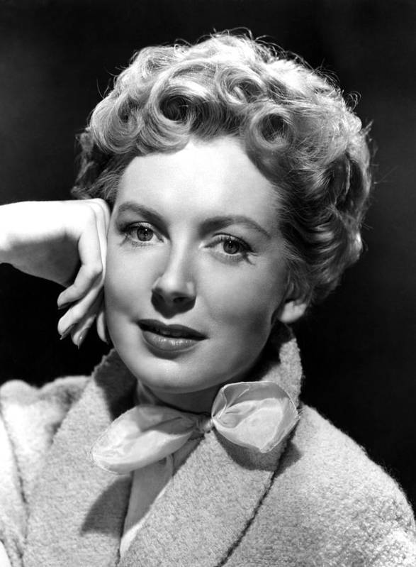 1950s Portraits Poster featuring the photograph Deborah Kerr, C. Early-mid 1950s by Everett