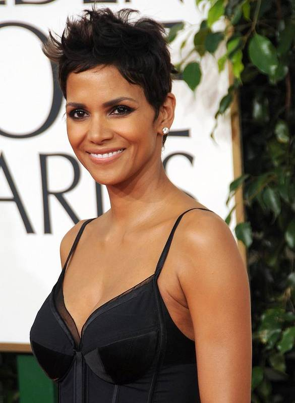Halle Berry Poster featuring the photograph Halle Berry At Arrivals For The by Everett