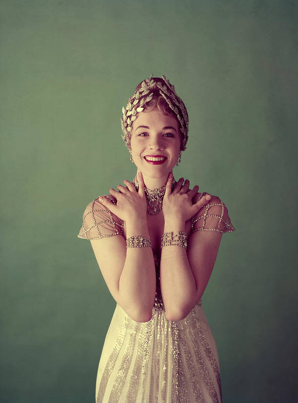 1950s Portraits Poster featuring the photograph Julie Andrews, Mid-late 1950s by Everett