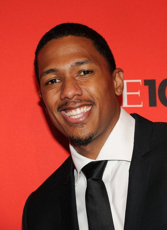 Nick Cannon Poster featuring the photograph Nick Cannon At Arrivals For Time 100 by Everett