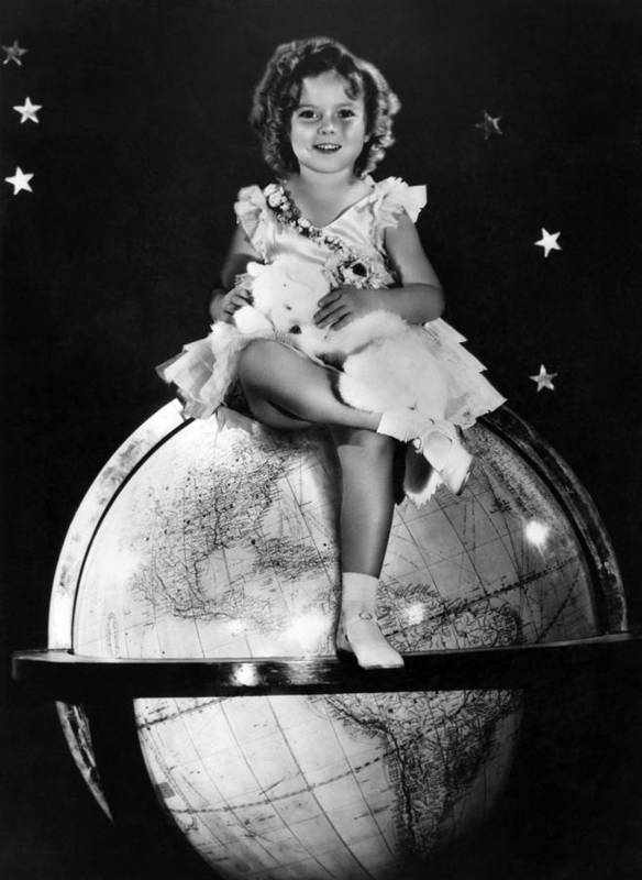 11x14lg Poster featuring the photograph Shirley Temple, Fox Film Portrait, Ca by Everett