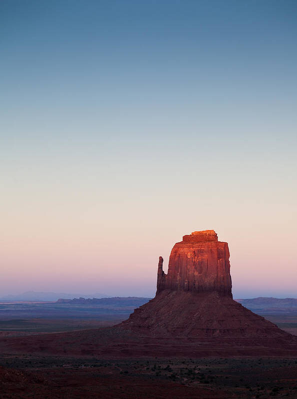 Monument Valley Poster featuring the photograph Twilight In The Valley by Dave Bowman