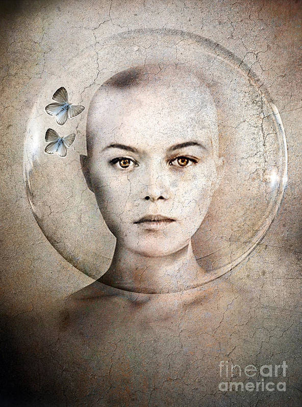 Photodream Poster featuring the photograph Inner World by Jacky Gerritsen