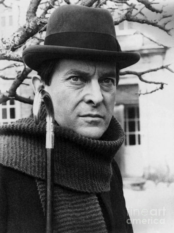 1988 Poster featuring the photograph Jeremy Brett (1935-1995) by Granger
