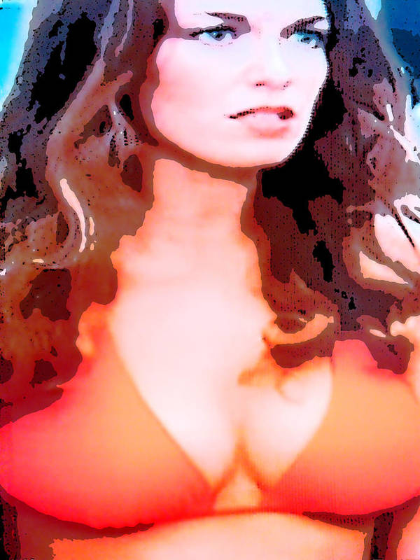 Daisy Duke Poster featuring the photograph Daisy Duke by J Anthony