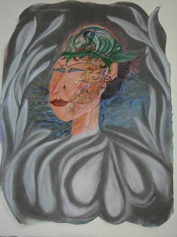 Pastel Poster featuring the painting Tattoo You by Marian Hebert