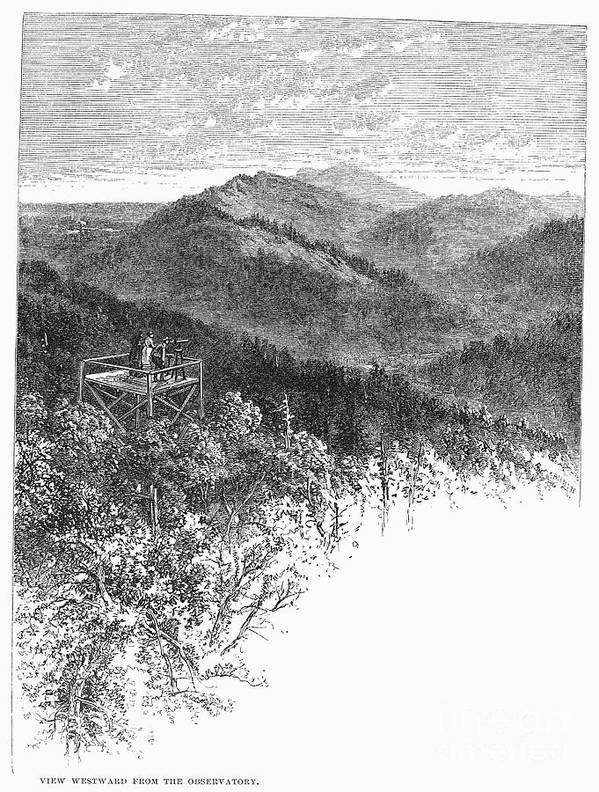 1878 Poster featuring the photograph Arkansas: Mountains, 1878 by Granger