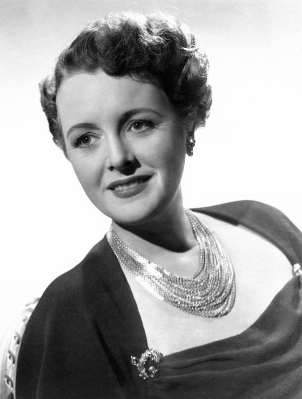 1940s Portraits Poster featuring the photograph Claudia And David, Mary Astor, 1946 by Everett
